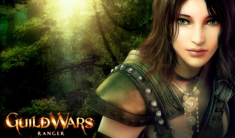 ranger, девушка, guild, game, wars, fantasy,