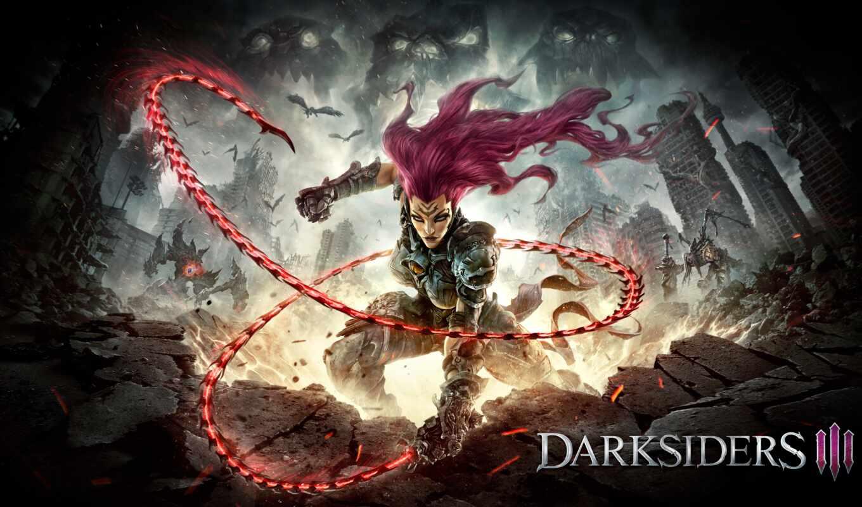 darksiders, iii, игры, rage, nordic, thq, games,