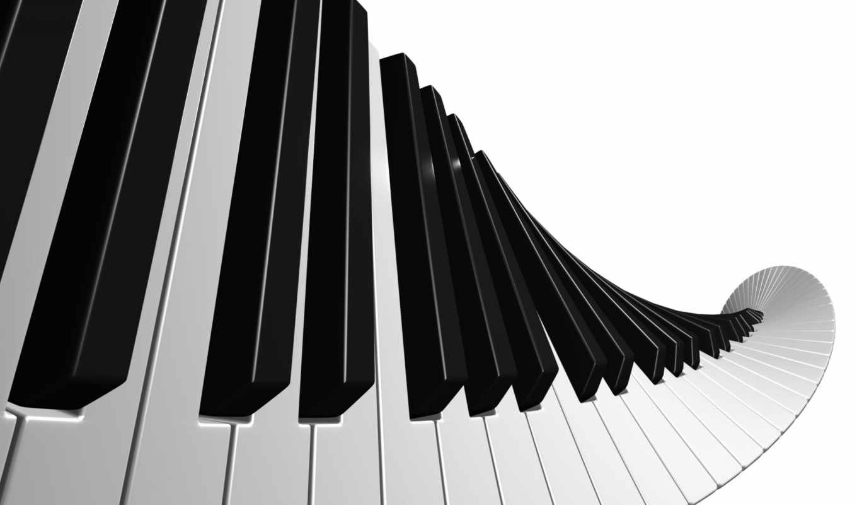 музыка, клавиши,