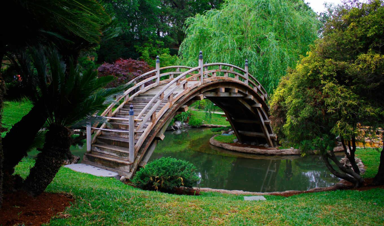 природа, мост, japanese,