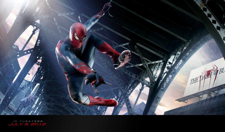 паук, мужчина, new, кадры, фильма, сниматься, amazing,