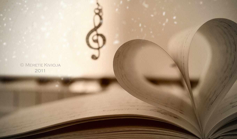 открыть, книга, музыка, love, por, todos, likes