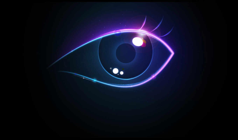 eye, creative, colorful, глаз, hd, ресница, wallpaper, неон, wallpapers, картинка,