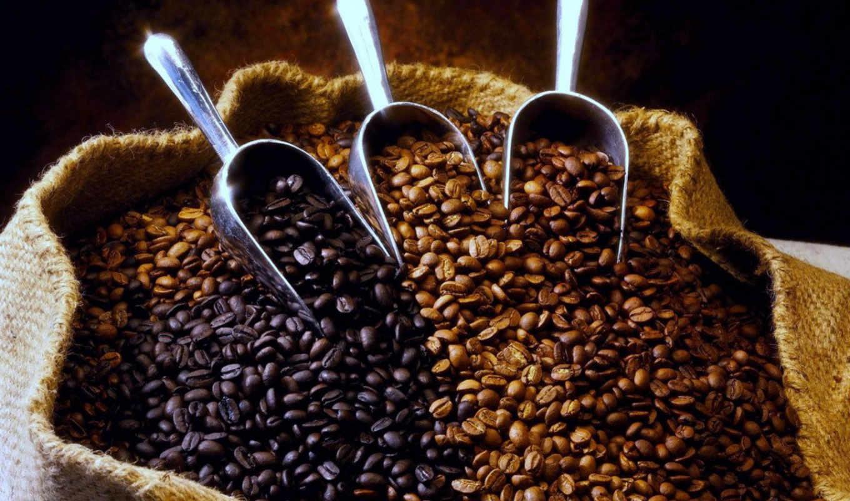кофе, зерна, мешок, аромат, картинка, картинку, кнопкой, kaffeebohnen, hintergrundbilder,