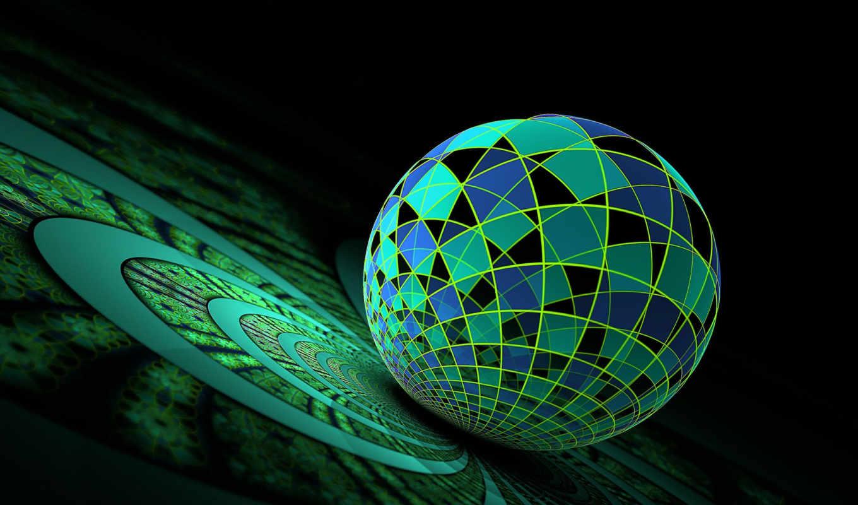 абстракция, рабочем, столе, абстрактная, графика, фона, you, desktop, collection, часть, шар, computer, turbobit,