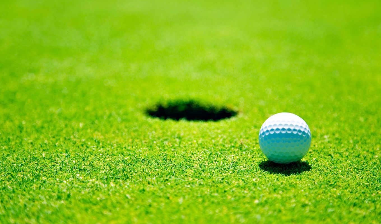 golf, мяч, спорт,