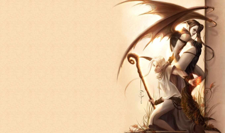 fantasy, ангелы, демоны, демон, angel, февр, картинок, категории,