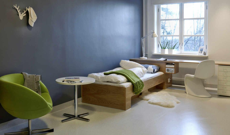 интерьер, стена, спальни, ifresh, можно,