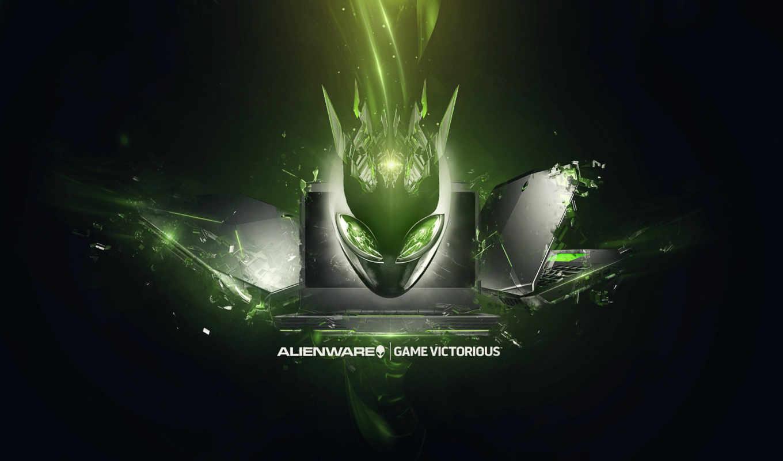 alienware, art, ievgeni, зелёный, марта, фонов,