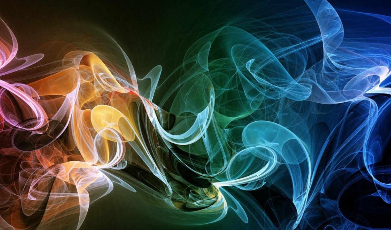 абстракция, текстура, абстракции, радуги, цветы, дек, узоры,