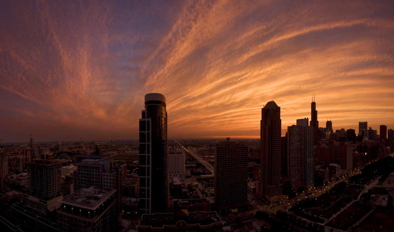 небо, collect, clouds, горизонт, море, comments, закат, desktop,