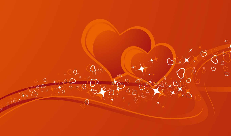 красивые, love, любви, сердца,
