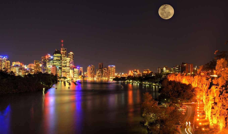 ночь, город, сверху, здания, небоскребы, взгляд, есть, которых, дома, тег, всех,