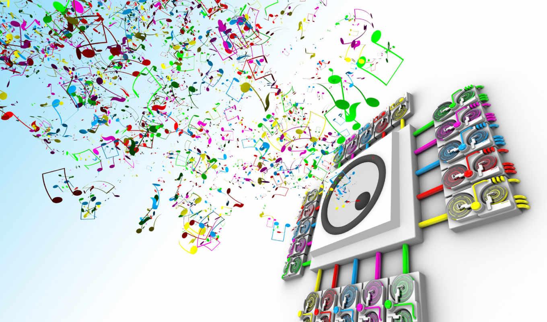 музыка, веселая, песни, музыкальных,
