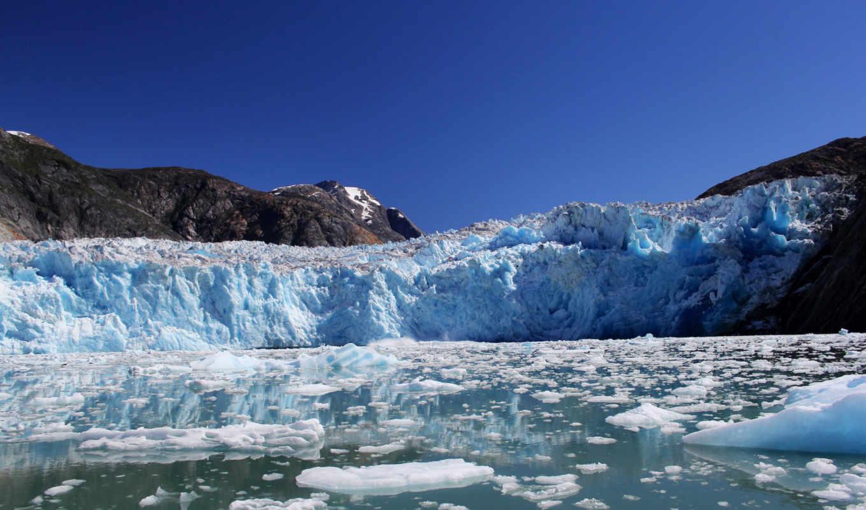 картинка, лед, аляска, природа, море,
