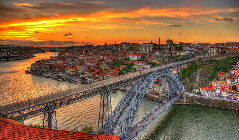 португалия, dom, мост, porto, lui, house