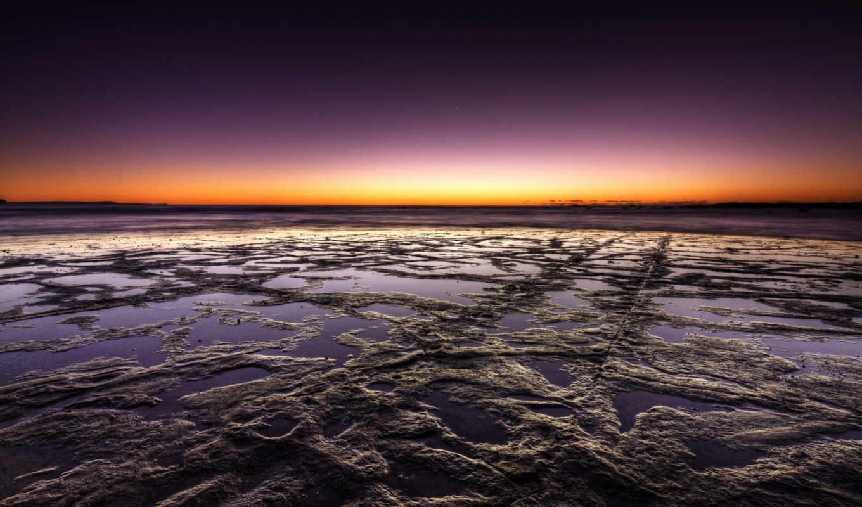 фотошоп, камни, горизонт, небо, вода, картинка, картинку,