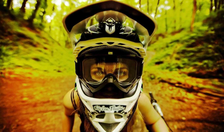 вело, няшка, девушка, mtb, триал, dirt, широкоформатные,