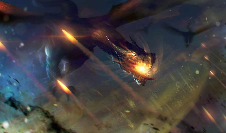 дракон, fiery, billcreative, deviantart, яйцо,