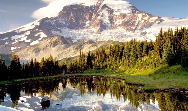 горы, подборка, красивые, красивых, девушек, очень,