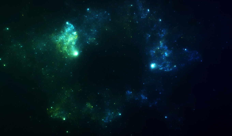 космос, широкоформатные, звезды, туманности,