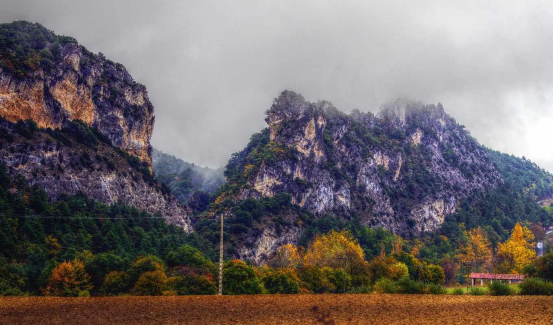 картинка, природа, горы, испания, изображение,