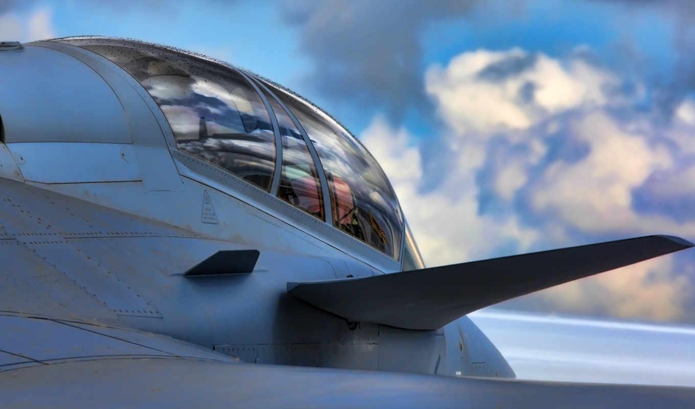 gripen, jas, cockpit, истребитель, saab, реактивный, самолёт, взгляд,