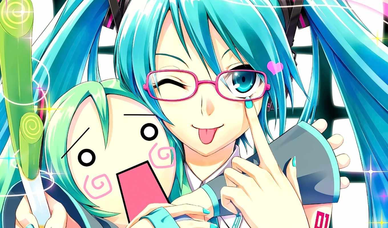 miku, hatsune, vocaloid, desktop,