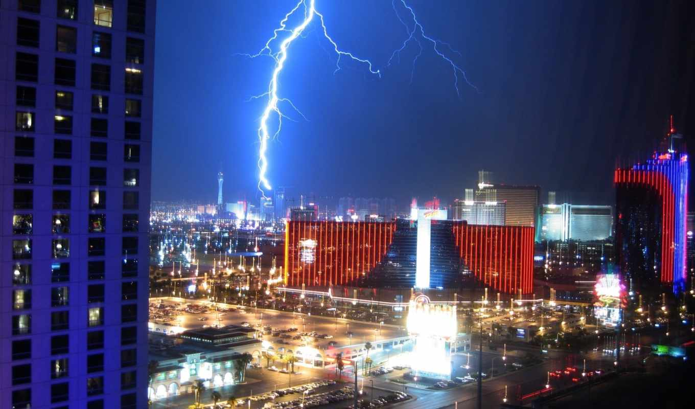 lightning, vegas, over, las, share, молний, müəllif, xəbərə, nofel,