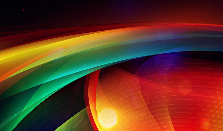 abstract, полосы, colorful, radar, color, волны, точки,