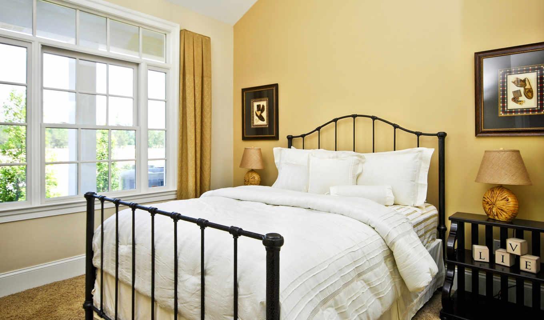 спальня, art, стена, simple, design, ideas, bedrooms,