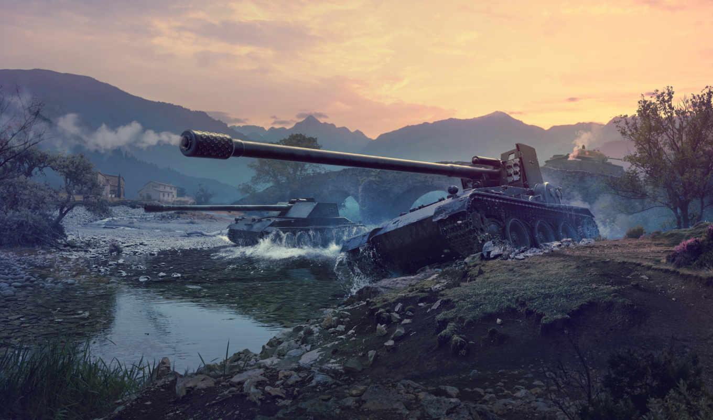 grille, world, tanks, танк, destroyer, июнь, blitz, немецких, пт,