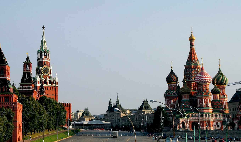 cathedral, basil, москва, square, red, кремль, россия, санкт, башня,