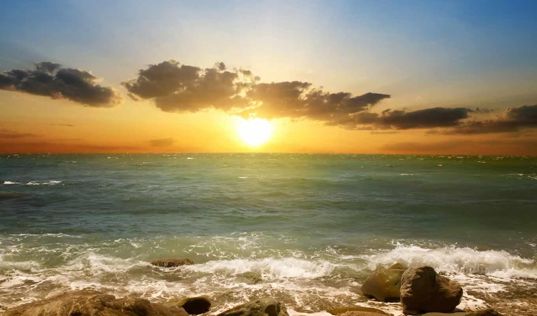 море, закат, фотообои, пляж, landscape, песок, природа, красивый, фотообоев, сцены,