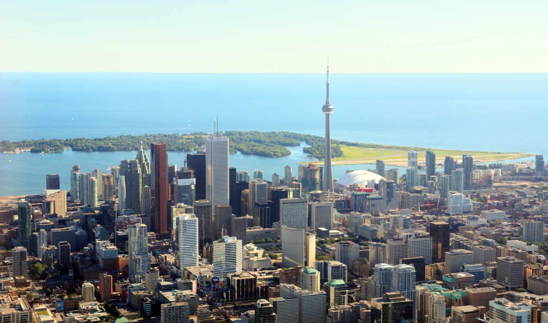 город, toronto, онтарио, канады, largest, провинции, канада, neighborhood,