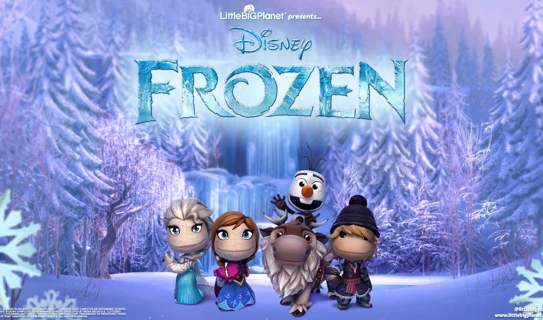 littlebigplanet, frozen, сердце, холодное, дек,