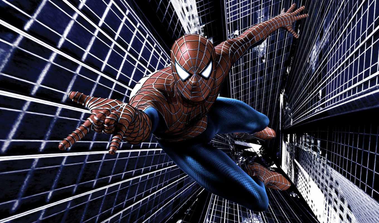 паук, мужчина, new, фильмы, спайдермен,