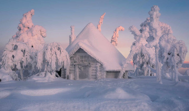 финляндия, устройство, winter, снег, сделать, изьба, mobile, cool