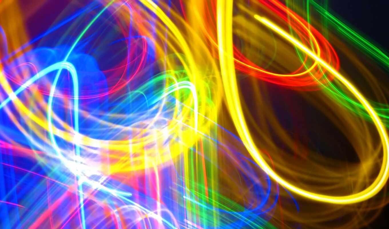 абстракция, red, blue, свет