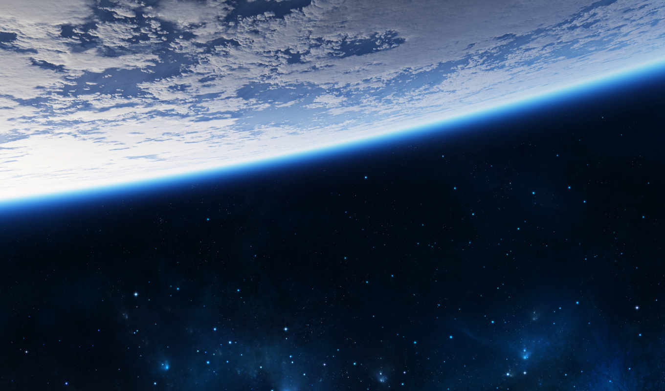 space, shuttle, earth, widescreen, stars, resolution, other,