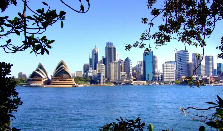 австралия, сидней, город, австралии, дома, мира, города,