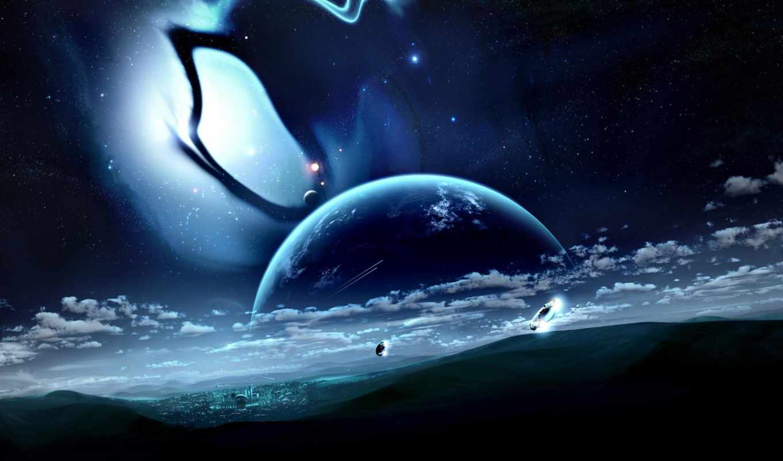город, space, облака, die, планета, similar, fiction, colors, category, added, science, journeyman, tags,