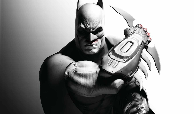 batman, arkham, city, knight, dark, видеоигры,