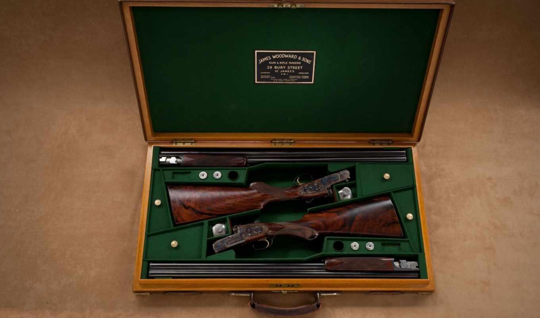 приклад, shotgun, ствол, woodward, oruzhie, стволы, футляр, ук, james, kartinka, ружье,