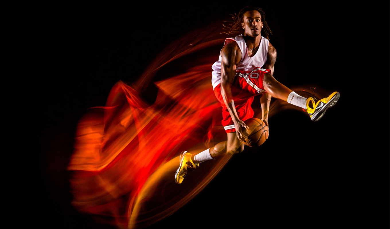 баскетбол, спортсменка, туфли, trajectories,