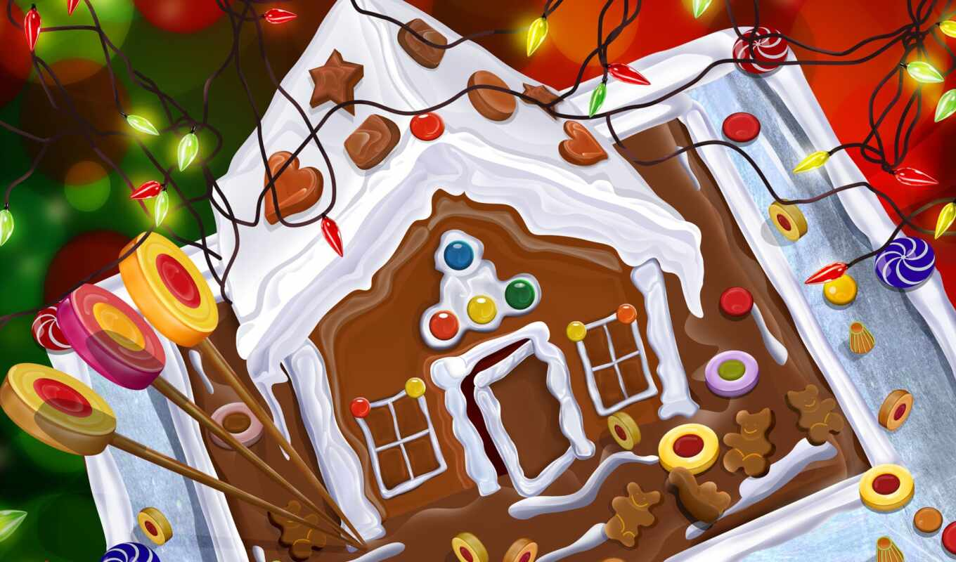 house, gingerbread,
