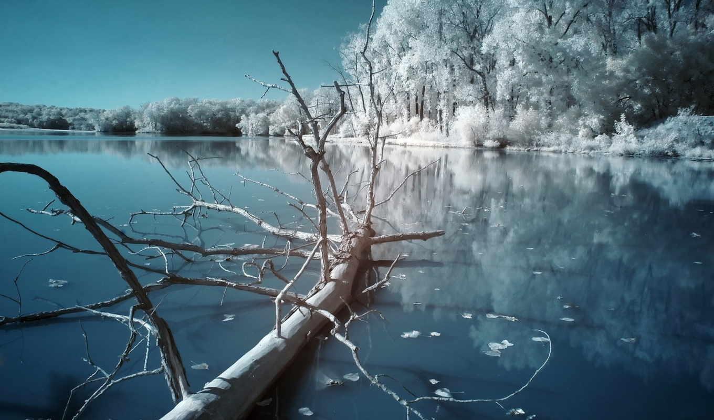 winter, красивые, самые, ночь, только, daily, красивая, заставки,