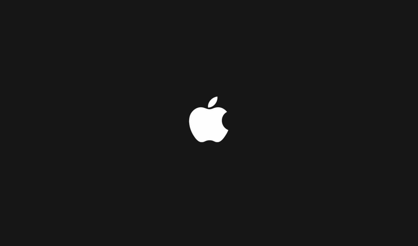 apple, logo, white, black