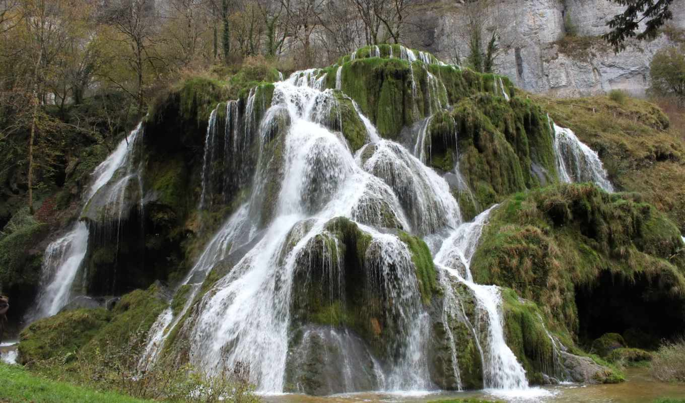 каскад, tufs, des, les, изображение, desktop, bilder, waterfalls, картинка,