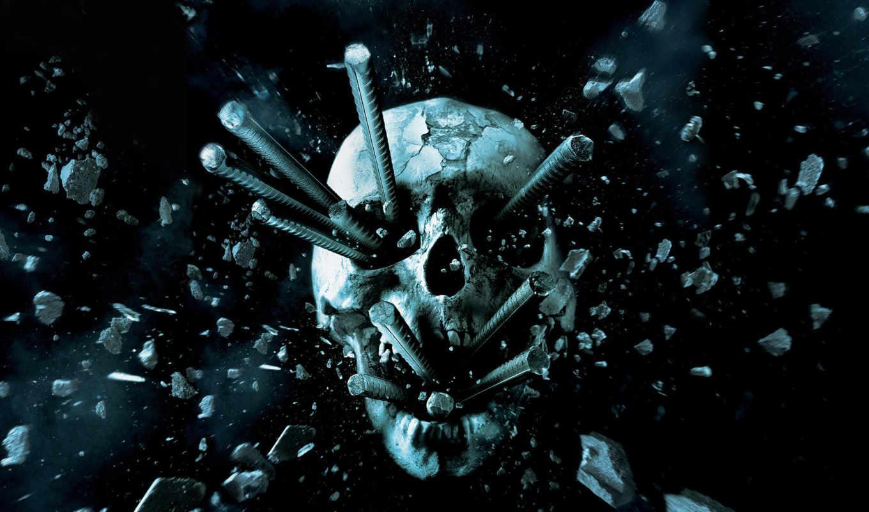 terror, película, que, плакат, destino, final, más, por, los,